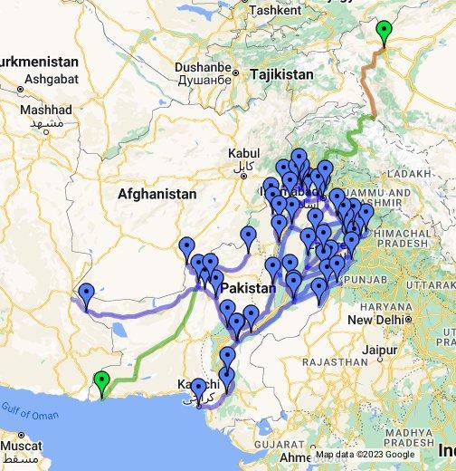 Pakistan Railways - Google My Maps