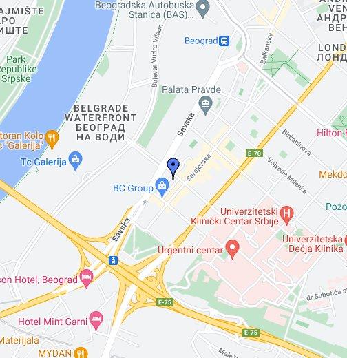 visegradska beograd mapa višegradska 6   Google My Maps visegradska beograd mapa