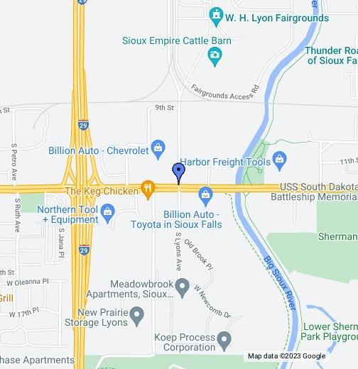 Sioux Empire Fair Grounds - Google My Maps