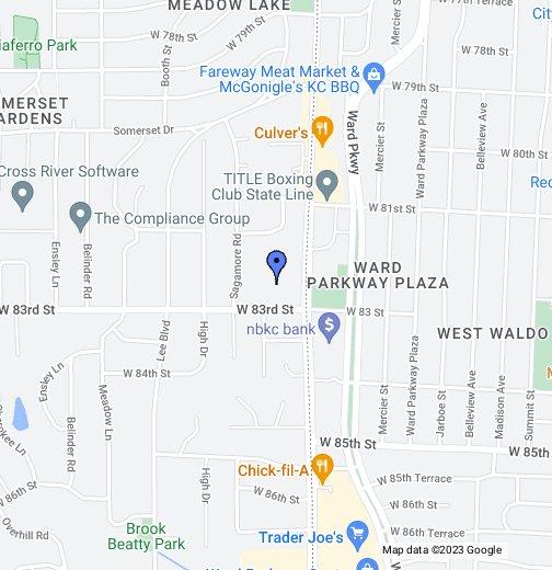 Trader Joe\'s Map Leawood Baptist Church   Google My Maps Trader Joe\'s Map