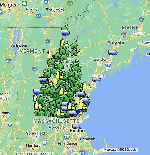 Pinkerton Academy Campus Map.Nh Farm To School Google My Maps