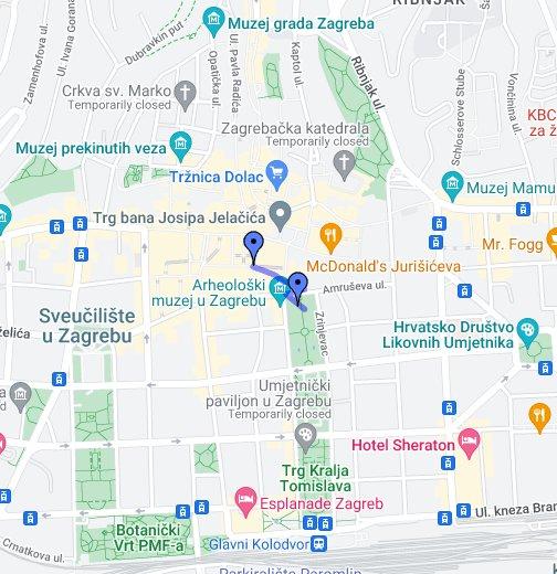 Karta Zagreba Google My Maps