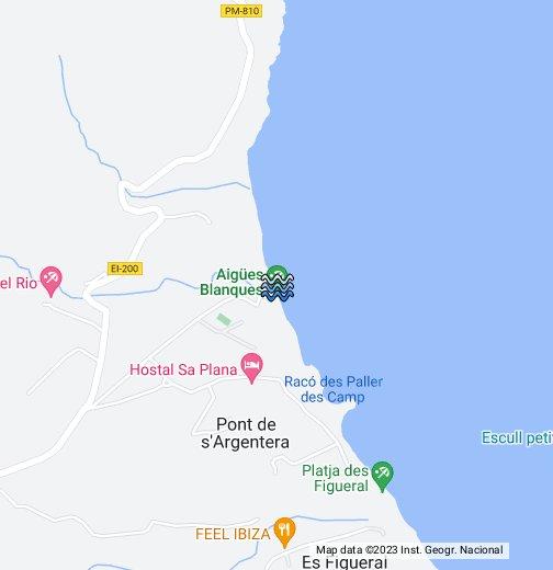 Aguas Blancas Beach Ibiza - Google My Maps