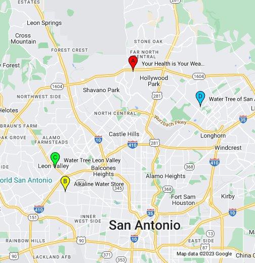 map of stone oak san antonio Business Ideas 2013 San Antonio Texas Street Map map of stone oak san antonio