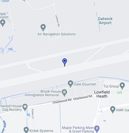 Gatwick Airport - Google My Maps