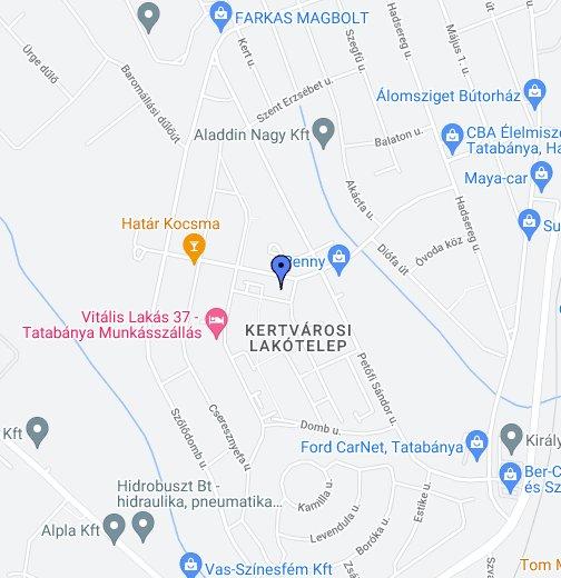 budapest alkotmány utca térkép Arany Kígyó Patika Tatabánya – Google Saját térképek budapest alkotmány utca térkép