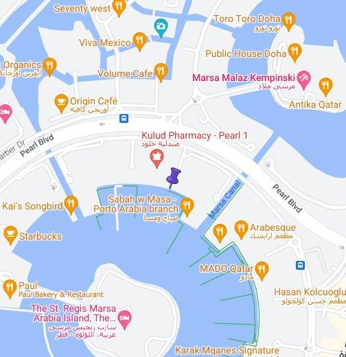 Caribou Coffee Pearl Qatar - Google My Maps