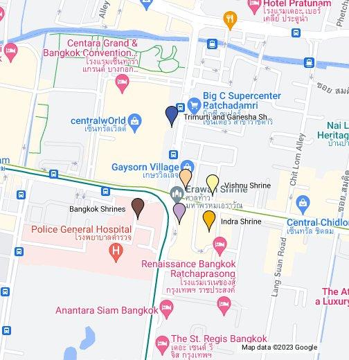 Bangkok shrines google my maps gumiabroncs Image collections
