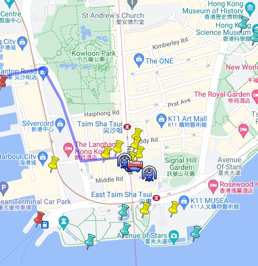 Map Hong Kong The Imperial Hotel Hong Kong   Google My Maps