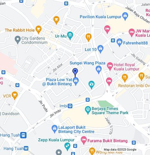 Kuala Lumpur Map Hotel Capitol Kuala Lumpur   Google My Maps