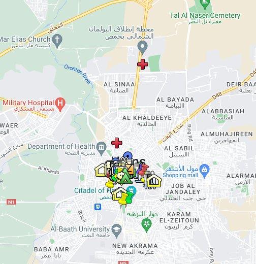 خريطة الرياض Kharita Blog