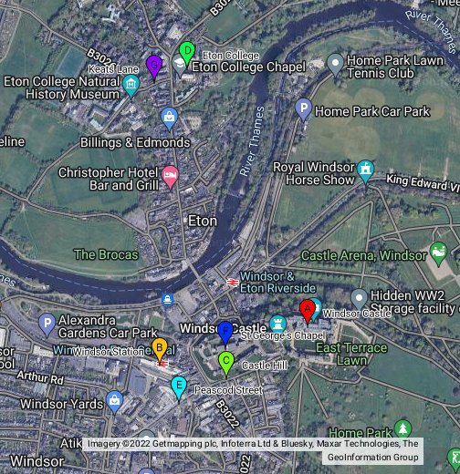 Windsor Castle Location Map Windsor   Google My Maps