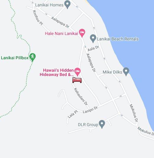 Hawaii S Hidden Hideaway Bed And Breakfast Google My Maps