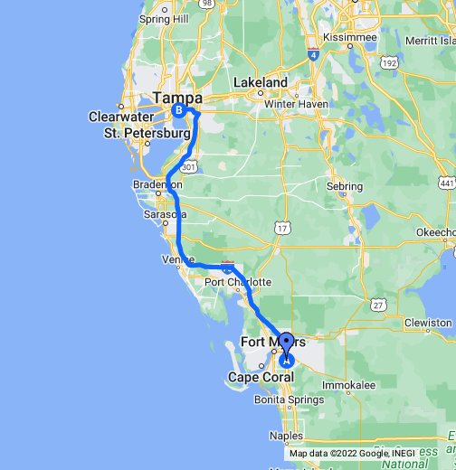 Driving directions to The Florida Aquarium, 701 Channelside ...