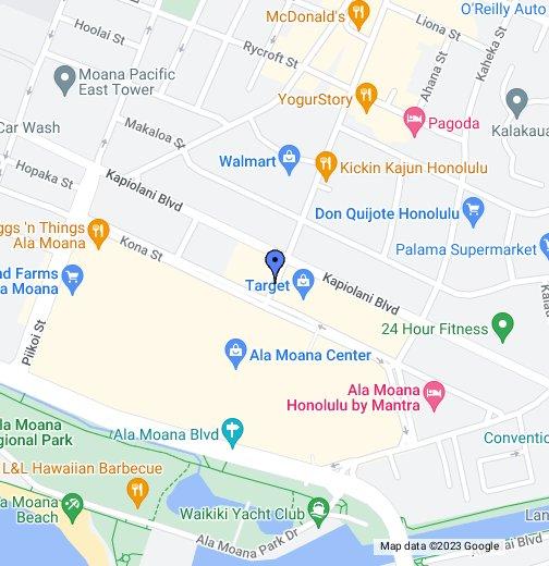 Ala Moana Map Ala Moana Building   Google My Maps