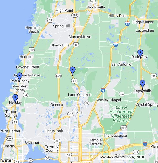 Retirement Mobile Home Communities In Pasco County Florida