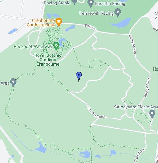 Cranbourne Victoria Map