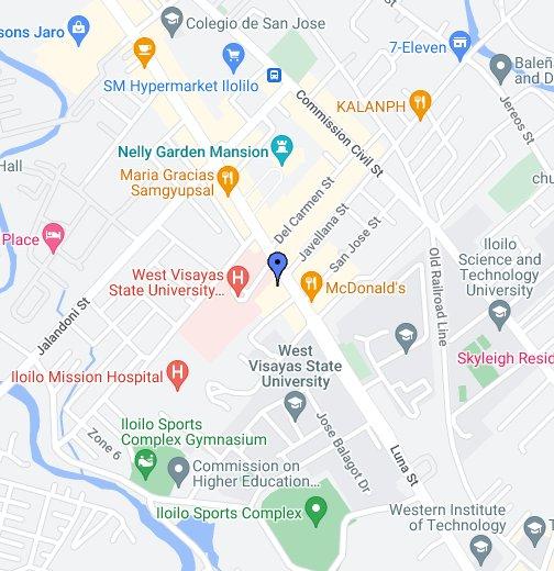 Lopez Arcade - Iloilo city map