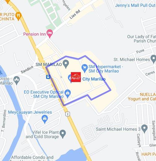 Bulacan SM Marilao - Marilao map