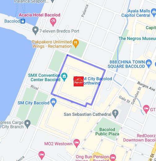 Bacolod SM Bacolod - Bacolod map