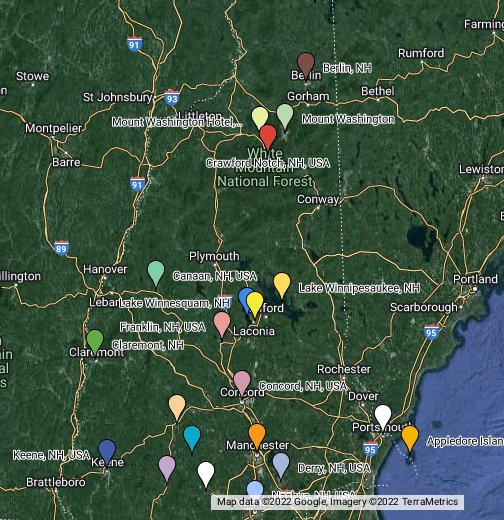 New Hampshire, USA - Google My Maps on lancaster nh map, newburyport nh map, peterborough nh map, peabody nh map, hooksett nh map, methuen nh map, jacksonville nh map, connecticut new england map, keene new hampshire, nh state road map, westminster nh map, manchester nh on map, brattleboro nh map, plymouth nh map, franklin nh map, mansfield nh map, walpole nh map, buffalo nh map, cheshire nh map, monadnock mountain nh map,