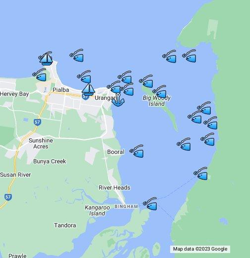 Hervey Bay Fish Finder Google My Maps Hervey bay has often been called the jewel in queensland's crown. hervey bay fish finder google my maps