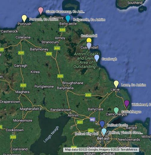 32 County Map Of Ireland.Irlanda Maps Google
