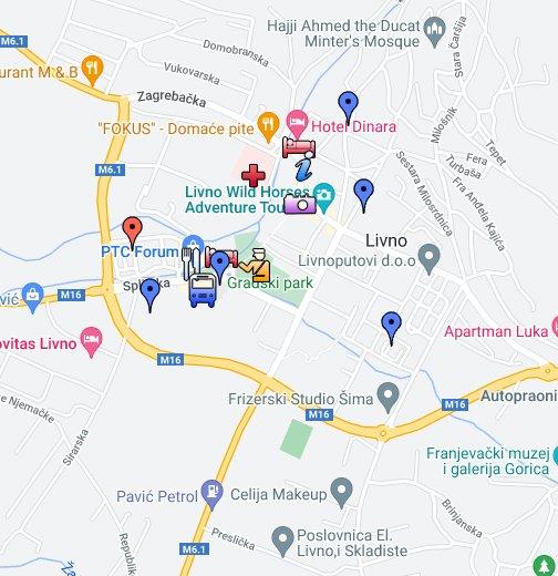 Livno Karta Google My Maps