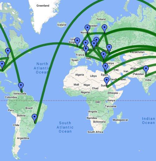 Empire of Hyundai Motors - Google My Maps