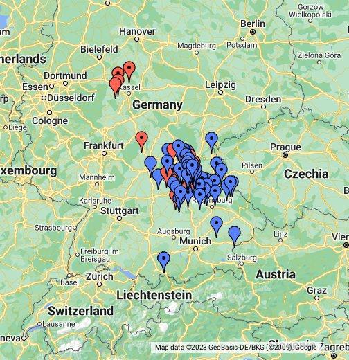 Burgen – Google My Maps