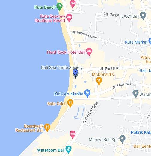 Kuta Beach Turtle Hatchery Google My Maps