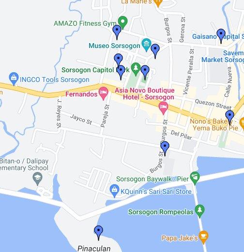 Sorsogon Philippines Map Sorsogon City Places   Google My Maps