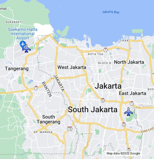 Jakartas airports google my maps publicscrutiny Image collections