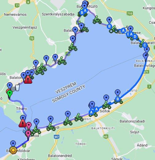 balaton kiskör térkép Balaton kiskör – Google Saját térképek balaton kiskör térkép
