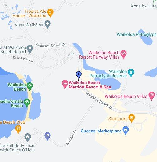 Waikoloa Beach Marriott Resort & Spa - Google My Maps on wailea beach marriott map, hali'i kai map, fairway villas map, napili point map, halii kai map, hawaii kai map, luana kai map, constantine map, grand wailea map, pauoa beach map, oran map,
