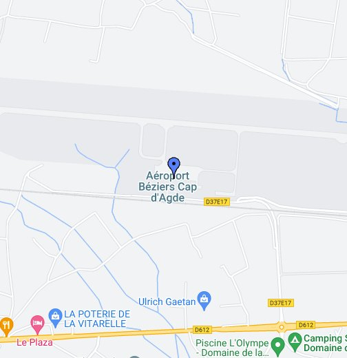 Beziers Airport Map Beziers Airport   Google My Maps