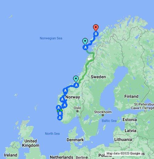 Norway 3 - Google My Maps