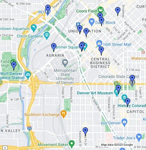 Denver - Google My Maps