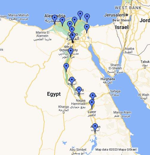 خريطة سكك حديد مصر Google My Maps