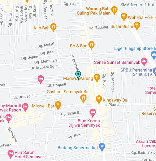 Golden Village Seminyak Bali Indonesia Luxury 3 Bedrooms Villa For Rent And For Sale Google My Maps