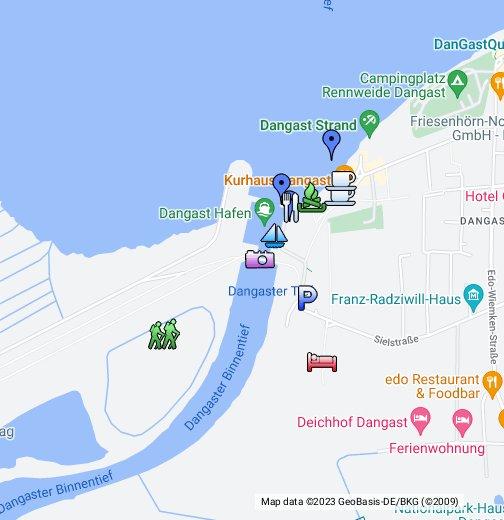 Dangast Karte.Dangast Varel Google My Maps