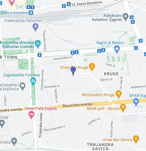 Zagreb Croatia Google My Maps