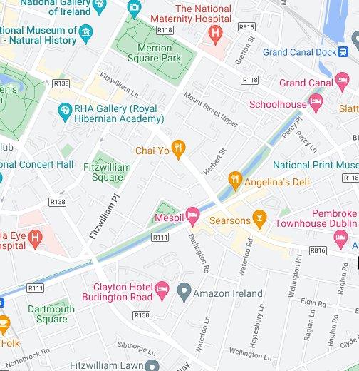 Google Map Of Dublin Ireland.Stephens Green Google My Maps