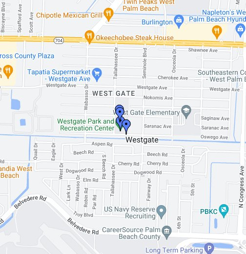 Westgate Park and Recreation Center - Google My Maps