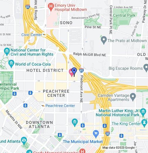 Ietf 85 Hilton Atlanta Google My Maps