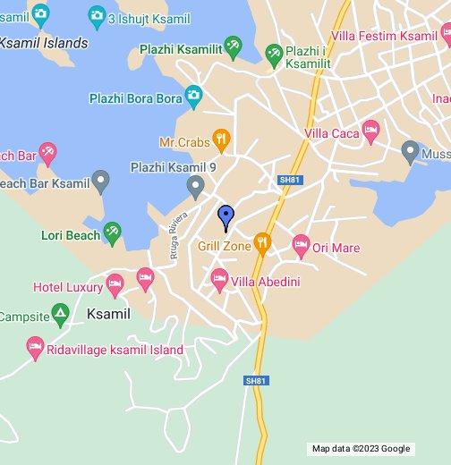 Karte Albanien.Ksamil Albanien Google My Maps