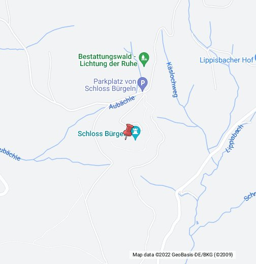 Schloß Bürgeln – Google My Maps on