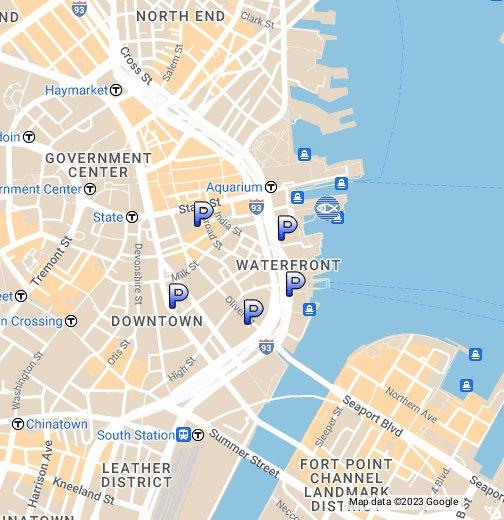 Map Of England Google.Parking Near New England Aquarium Google My Maps