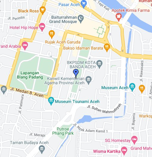 Banda Aceh Google My Maps