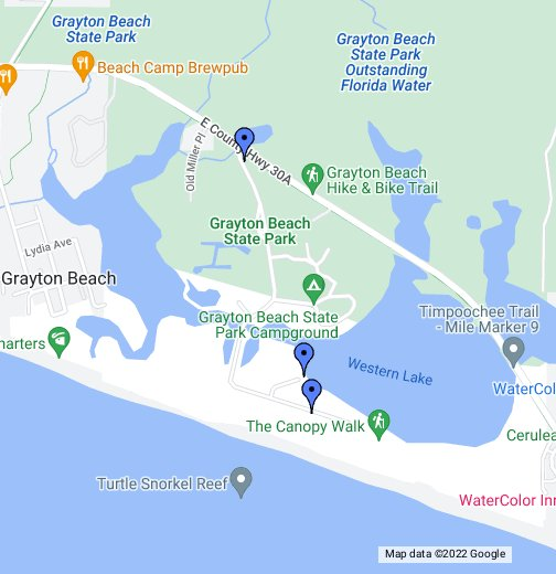 Grayton Beach State Park Google My Maps